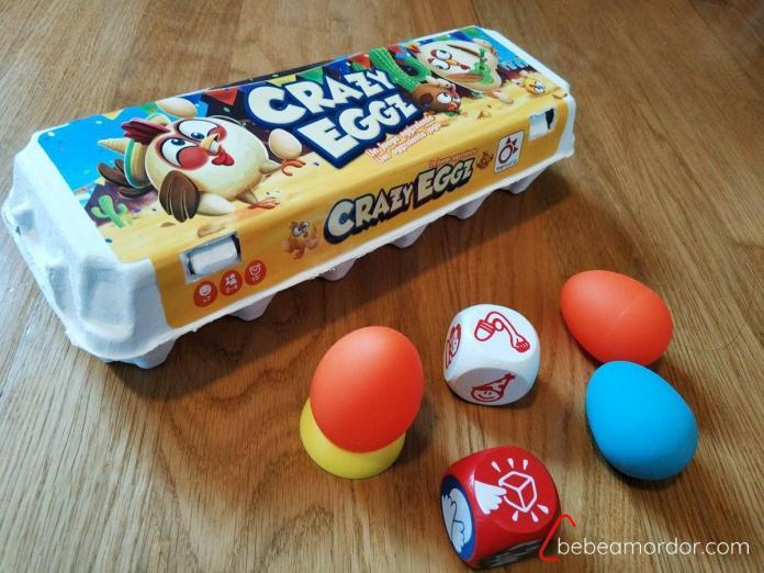 Crazy Eggz juegos y actividad física con niños en casa ideas