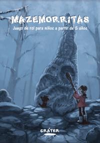 Portada juego de rol gratis en pdf para niños Mazemorritas