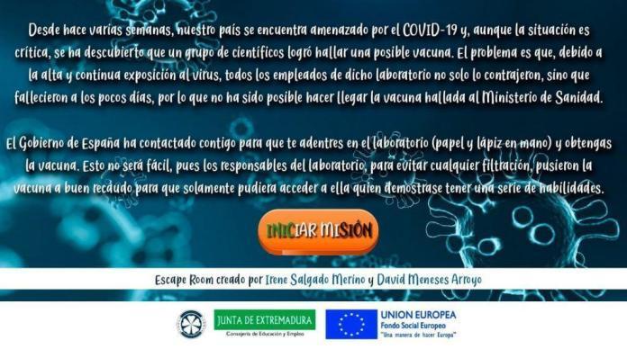 covid19 escape room gratis