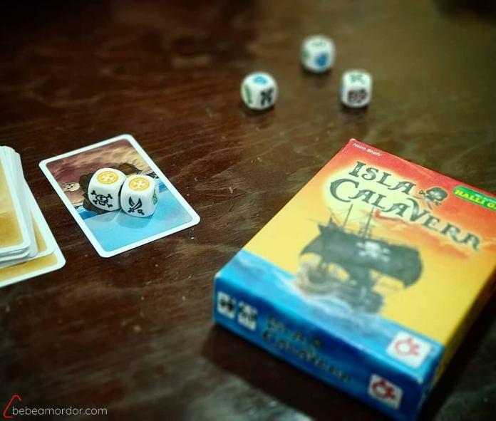 juego de mesa para matemáticas Isla Calavera