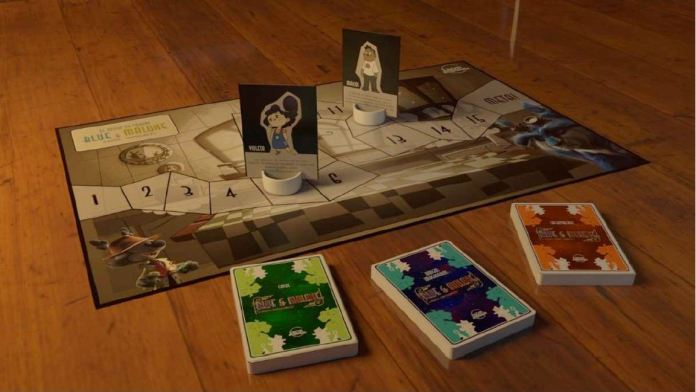 juego de mesa Blue and Malone imprimible gratis