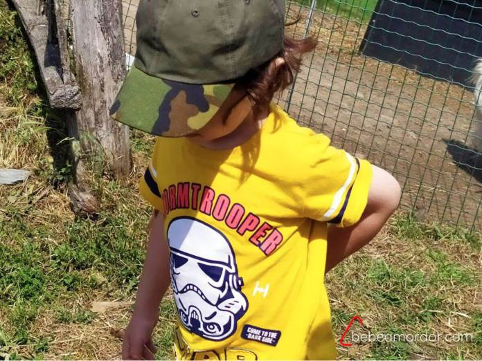 camisetas personalizadas Star Wars para niño.