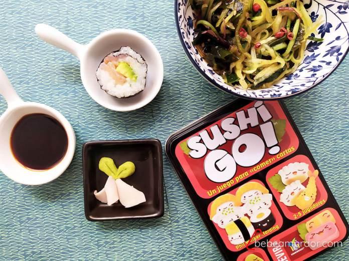 receta sushi casero