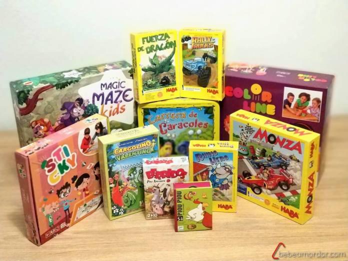 juegos de mesa para niño/as de 5 años