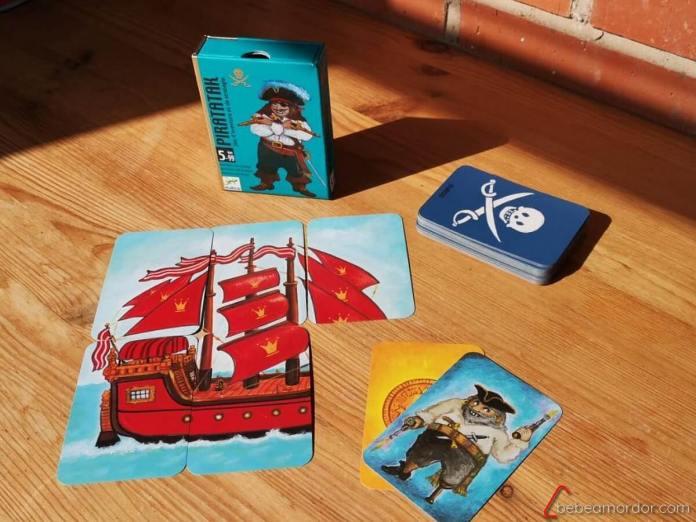 juegos de mesa de piratas para niños de 5 años Piratatak
