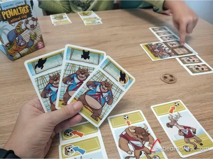 penalties juego de mesa tranjis games