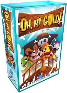 caja del juego de mesa Oh! My Gold piratas