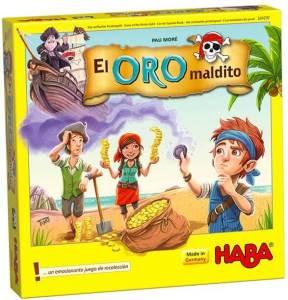 caja juegos de mesa de Piratas El Oro Maldito
