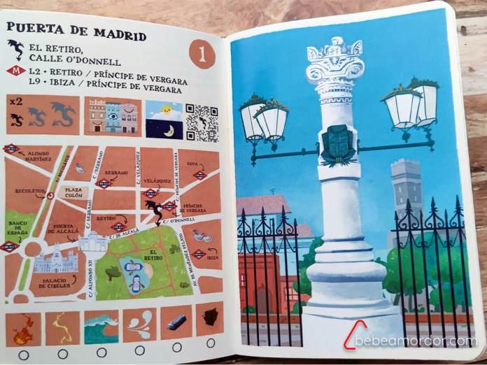 ruta dragones pasaporte lúdico madrid