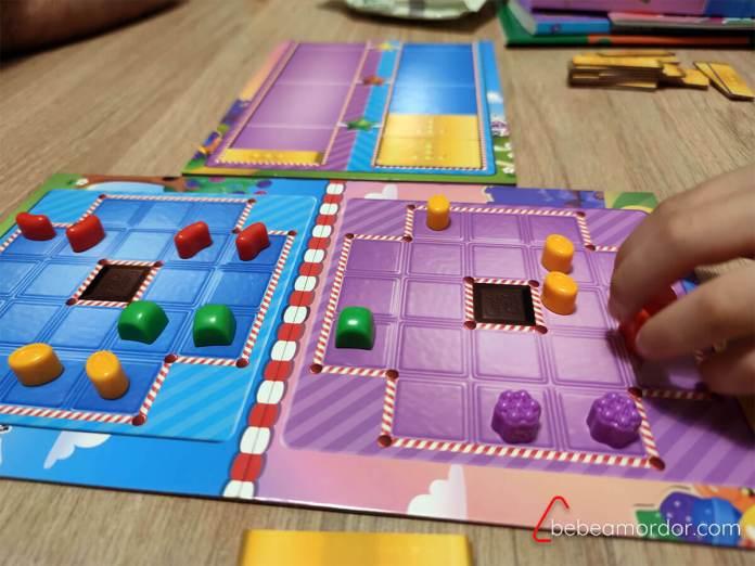 reseña juego de mesa CAndy Crush Duel