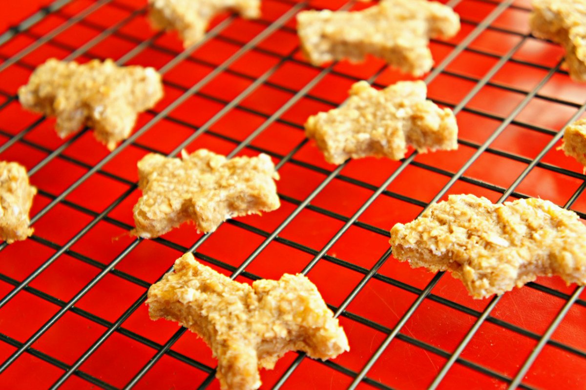 Peanut Butter Oatmeal Breakfast Animal Cookies
