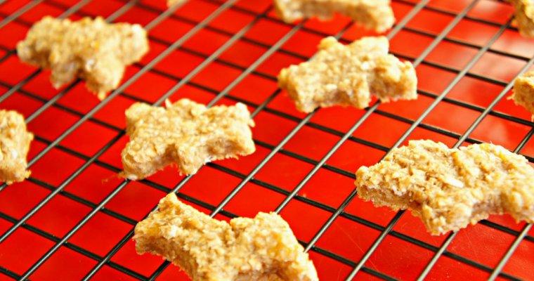 Peanut Butter Oatmeal Breakfast Animal Cookies