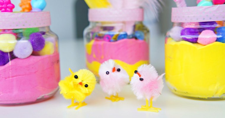 Getting Ready for Easter: Homemade Flowers by Tots