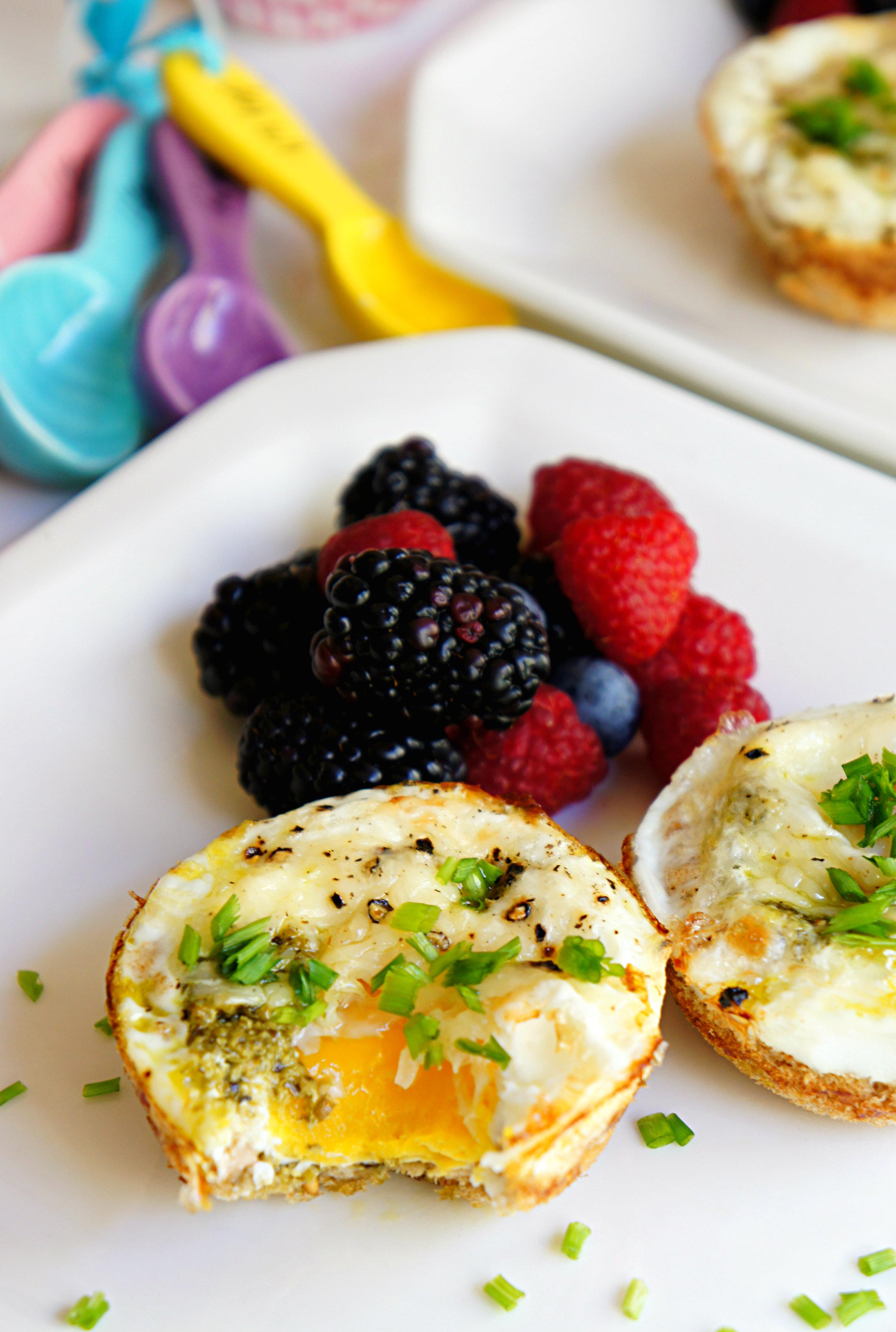 Easter Brunch Ideas: Egg in a Basket
