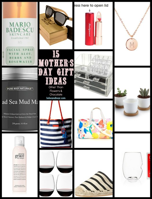 15 Sweet and Simple Mothers Day Gift Ideas That's Not Flowers and Chocolate
