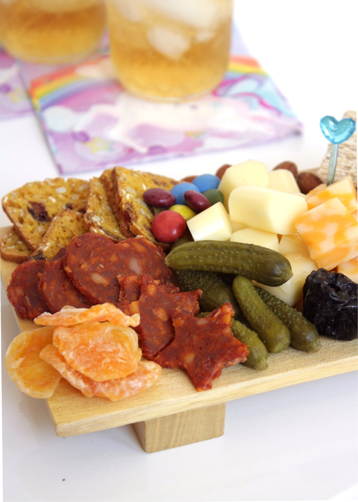 Kids Cheeseboard. Kids Charcuterie Plate. Fun for Thanksgiving and Christmas.