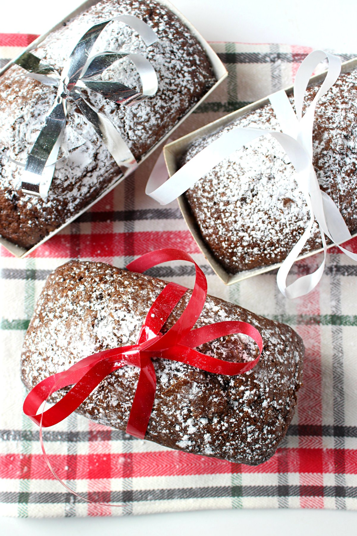 Mini Gingerbread loaf with real ginger.