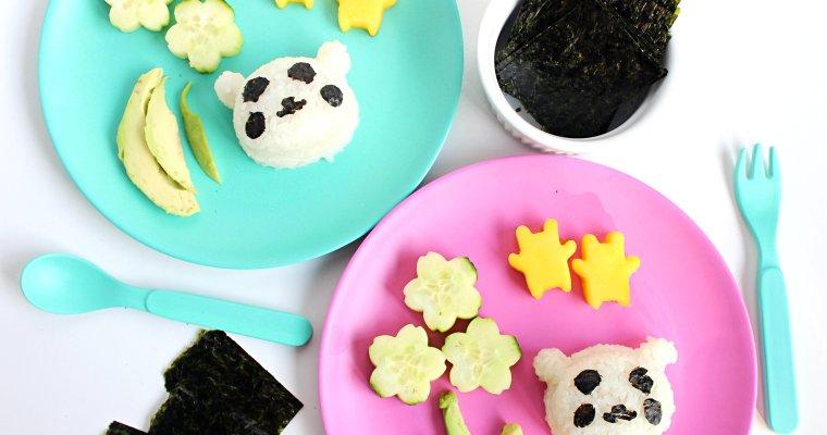 DIY Kids Sushi Plate: Vegetarian