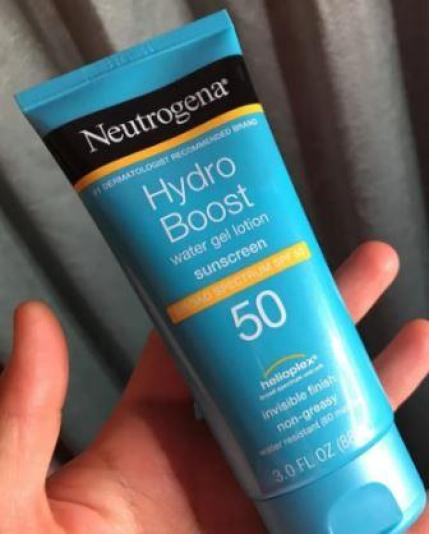 Neutrogena Hydro Boost Water Gel Sunscreen review