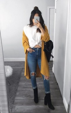 Casual And Stylish Fall School Outfits Ideas For Teens 04