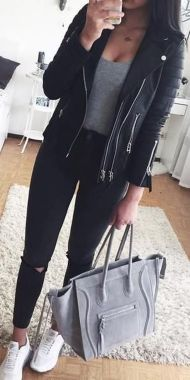Casual And Stylish Fall School Outfits Ideas For Teens 05