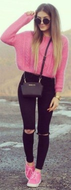 Casual And Stylish Fall School Outfits Ideas For Teens 11