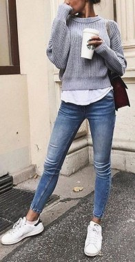 Casual And Stylish Fall School Outfits Ideas For Teens 29