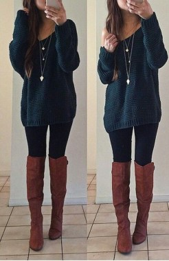 Casual And Stylish Fall School Outfits Ideas For Teens 32