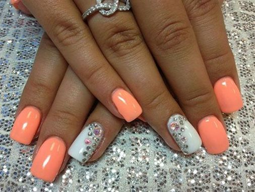 Cute Spring Nail Design Ideas With Bright Colour 08 1