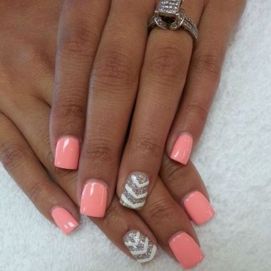 Cute Spring Nail Design Ideas With Bright Colour 14 1