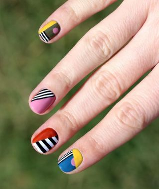 Cute Spring Nail Design Ideas With Bright Colour 16 2