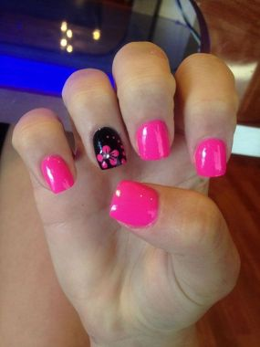 Cute Spring Nail Design Ideas With Bright Colour 21 1