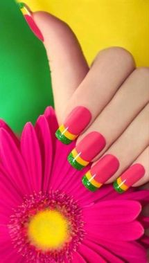 Cute Spring Nail Design Ideas With Bright Colour 31 1