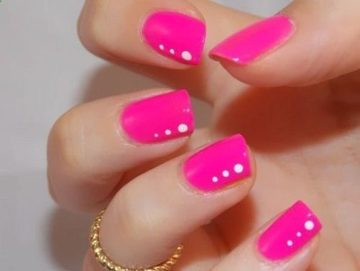 Cute Spring Nail Design Ideas With Bright Colour 33 1