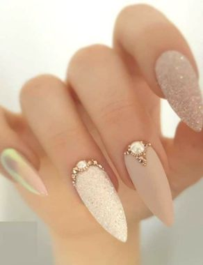 Best Acrylic Spring Nail Designs Trending 2020 07