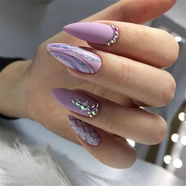 Best Acrylic Spring Nail Designs Trending 2020 10