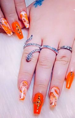 Best Acrylic Spring Nail Designs Trending 2020 24
