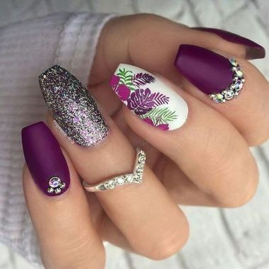 Best Acrylic Spring Nail Designs Trending 2020 37