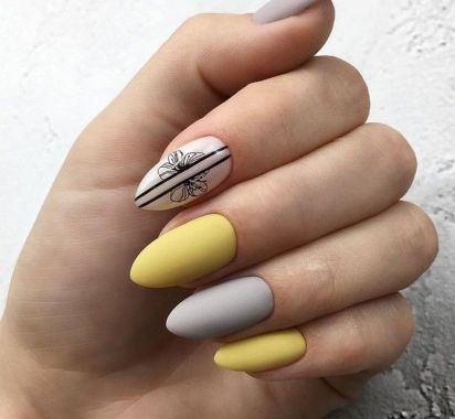 Best Acrylic Spring Nail Designs Trending In 2020 15