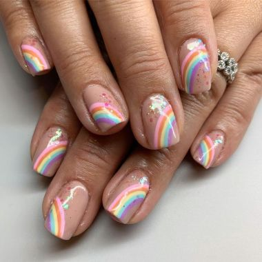 Best Acrylic Spring Nail Designs Trending In 2020 32