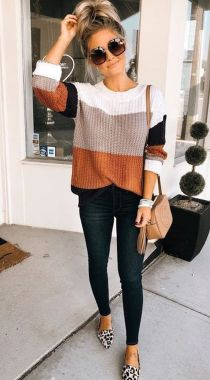 Casual Chic Women Outfits For Winter To Look Good 20