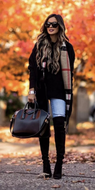 Casual Chic Women Outfits For Winter To Look Good 28