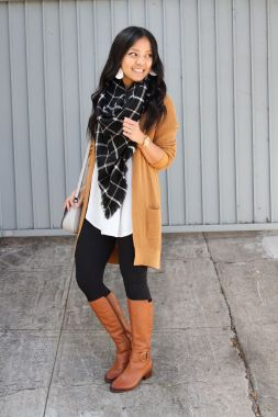 Casual Chic Women Outfits For Winter To Look Good 33