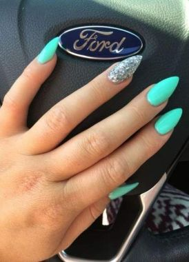 Cute Summer Nail Almond Design And Colours 11 1