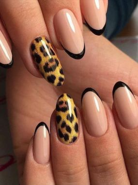 Cute Summer Nail Almond Design And Colours 20 1