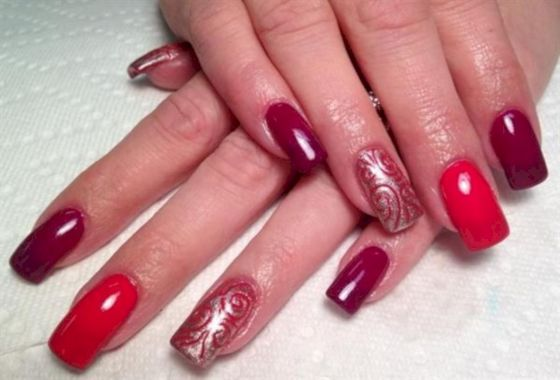 Cute Summer Nail Almond Design And Colours 26