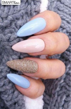 Cute Summer Nail Almond Design And Colours 35 1
