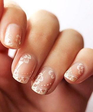 Cute And Chic Nail Design Ideas For Brides 34
