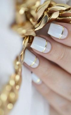 Cute And Chic Nail Design Ideas For Brides 39