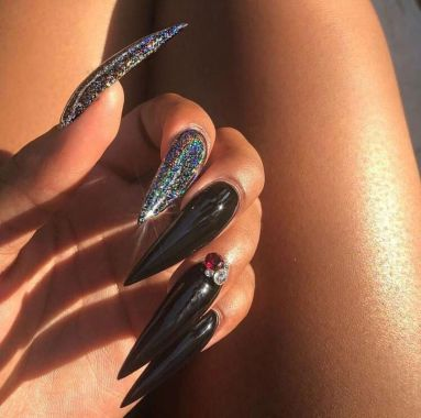 Pretty Acrylic Nails Ideas To Perfect Your Styles 12 1
